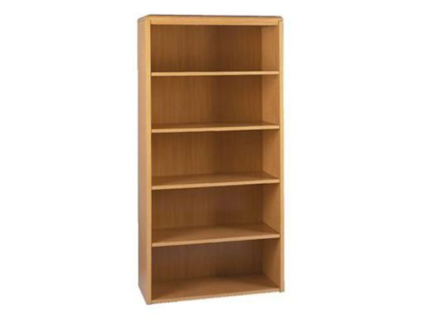 Honey Maple 2100 Series 4 Shelf Bookcase