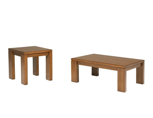 For casual style, buy the Bainbridge end table. The thick tabletop and plank style legs give it a...
