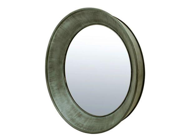 Basset Zinc Mirror
