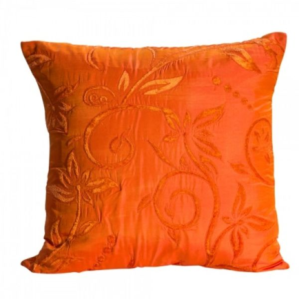 Pillow Silk Orange