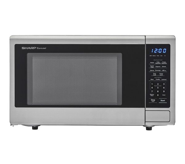 Microwave Stainless 1.1 C.F. 1