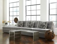 Armless Lounge 3 Seat Sofa Image 11