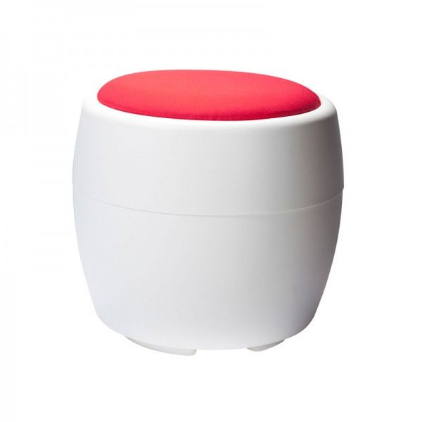 Candy Ottoman with Red Top 1