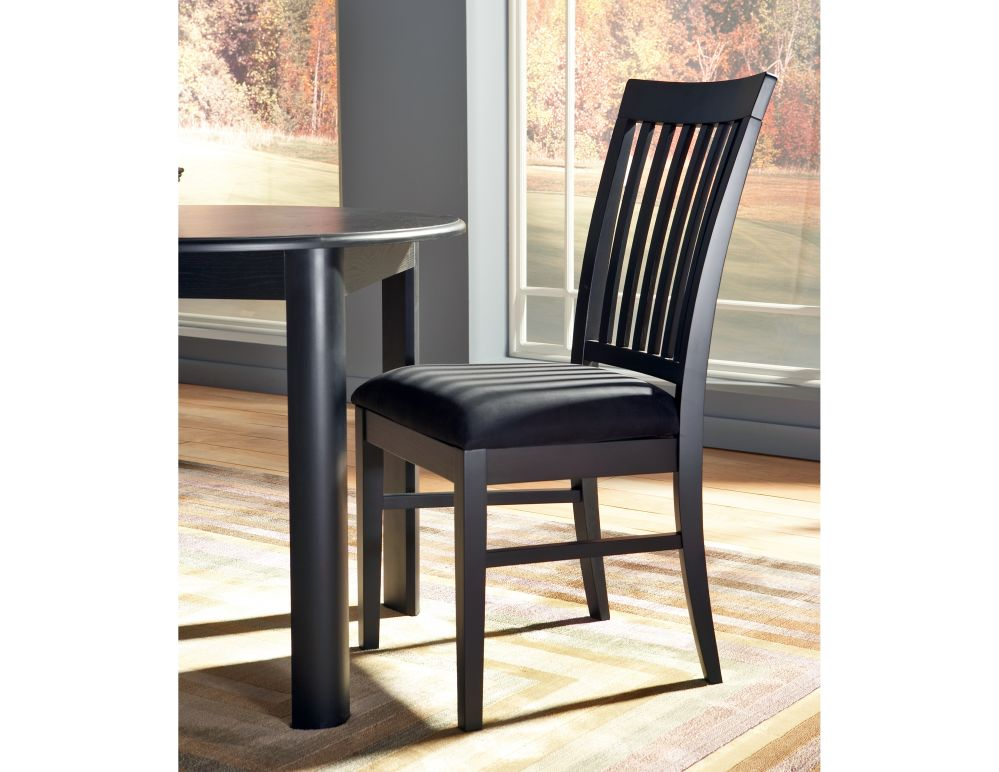 Cort Chicago Lakeshore Drive Eclipse Dining Chair Black