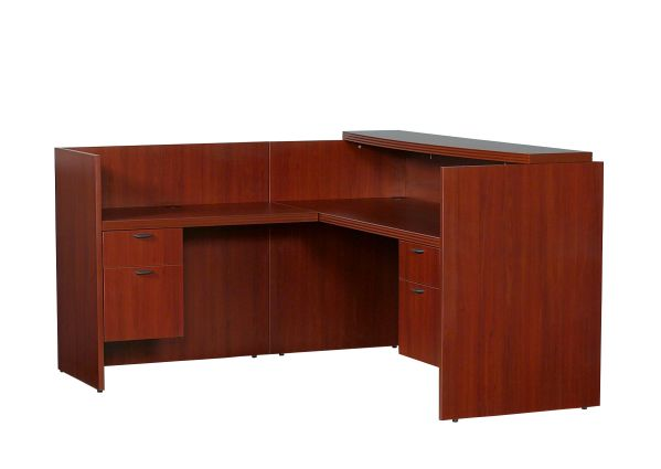 70's Series Left Hand Receptionist Desk 1