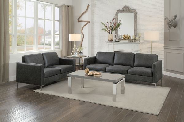 Home Elegance Breaux Sofa and loveseat