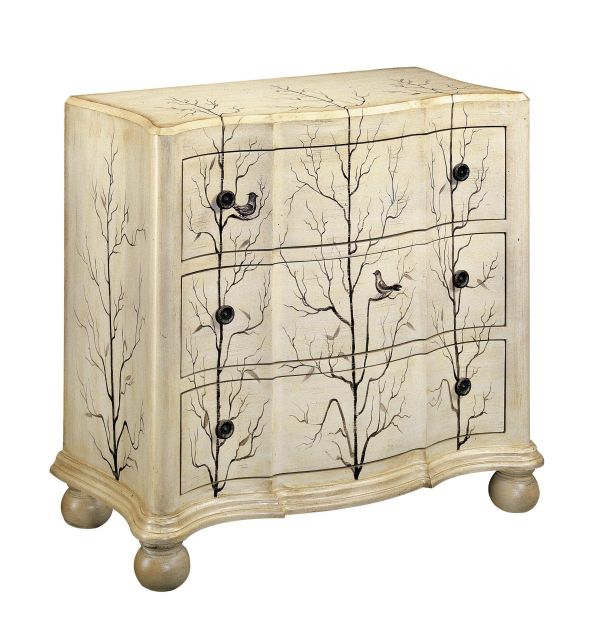 Winter Woods 3 Drawer Accent Chest 1