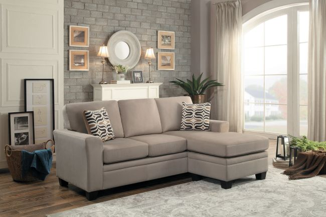 Cort Clearance Furniture Sofa New Khaki Synnore From