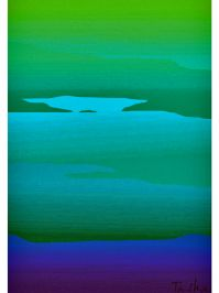 Buy the Ocean Horizon rug for a bold infusion of color and casual appeal. Made of ... Image 18