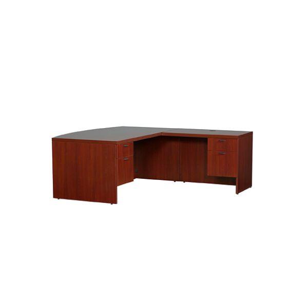 Lacasse 70s Series Bow Front RH L Desk