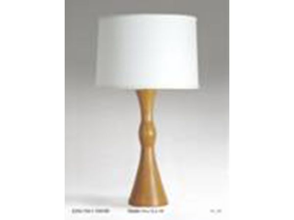 Honey Wood Table Lamp