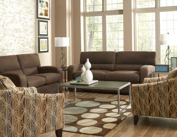 Charlie Sofa and Loveseat