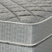 Serta Twin Plush Mattress Set Image 2