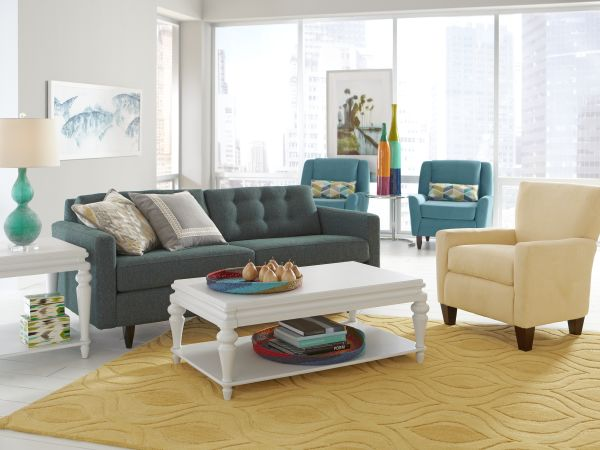 Darby Sofa & Lexi Accent Chair 1