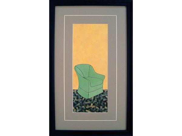 Green Chair Artwork