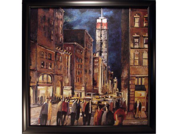 New York Night Artwork