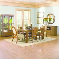Mandalay Rectangle Dining Room Table and Chairs Image 3