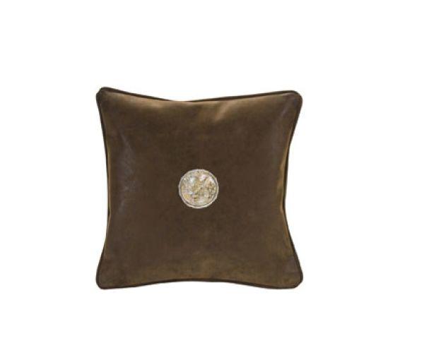 Espresso 12x12 pillow