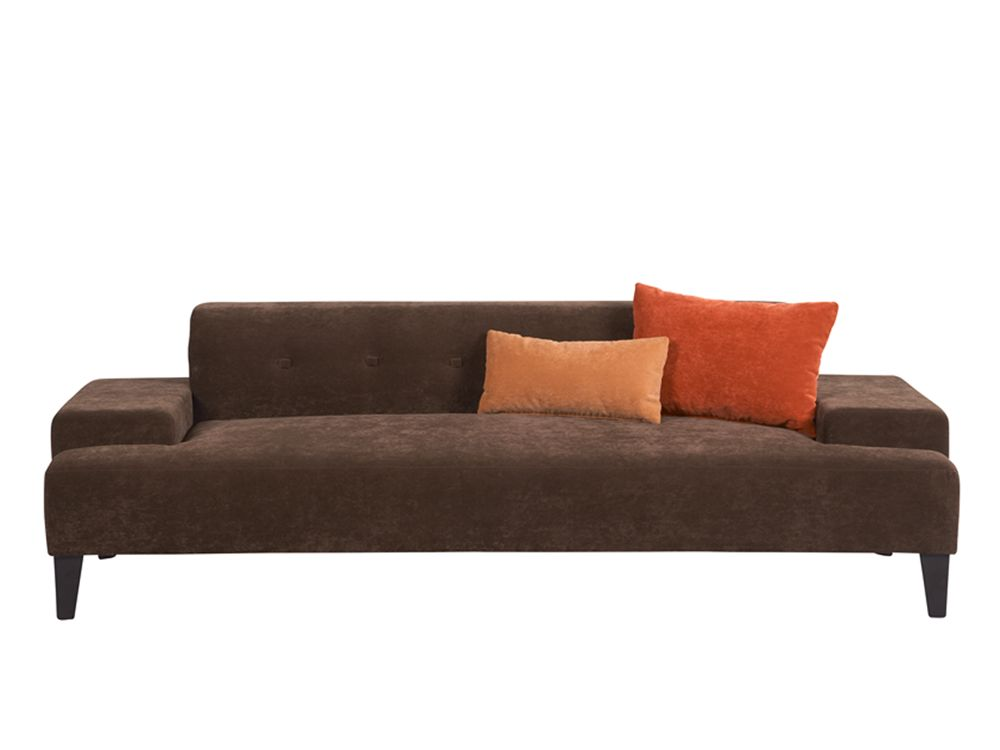 Cort alexandria jamaica chocolate sofa fine lines and for Cort furniture clearance