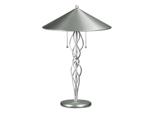 Satin Steel Table Lamp
