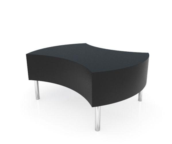 Curve Black Table