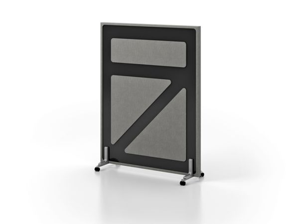 Divide Room Divider with Casters 1