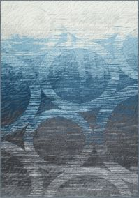 Horizon Circle Area Rug Image 16