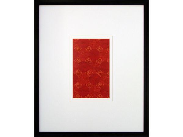 Fusion I Red Spirals Artwork