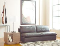 For dynamic seating in all leather comfort, buy the Amani armless loveseat. Wrappe... Image 16