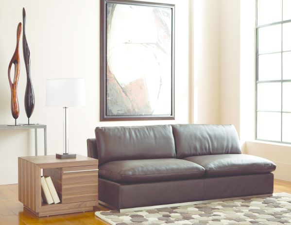 Amani Armless Loveseat 1
