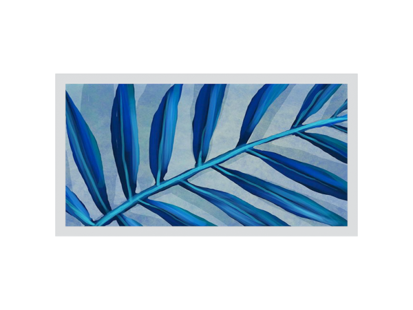 Abstract Frond II Framed Artwork 1