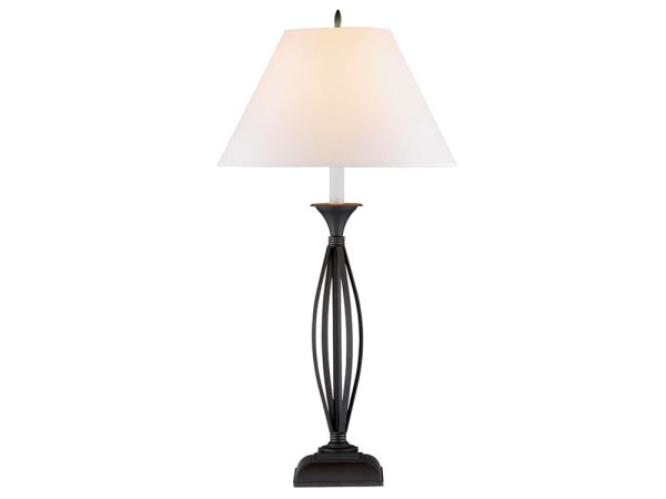 Strap Iron Table Lamp