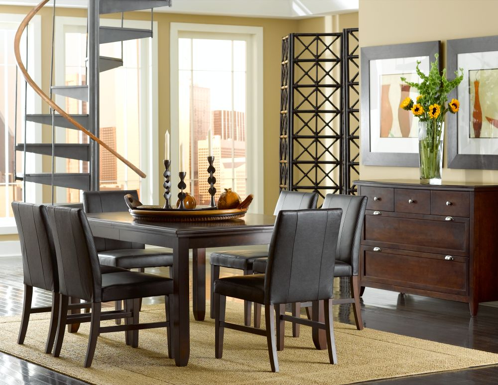Cort Indianapolis Colfax Rectangular Dining Room And 6