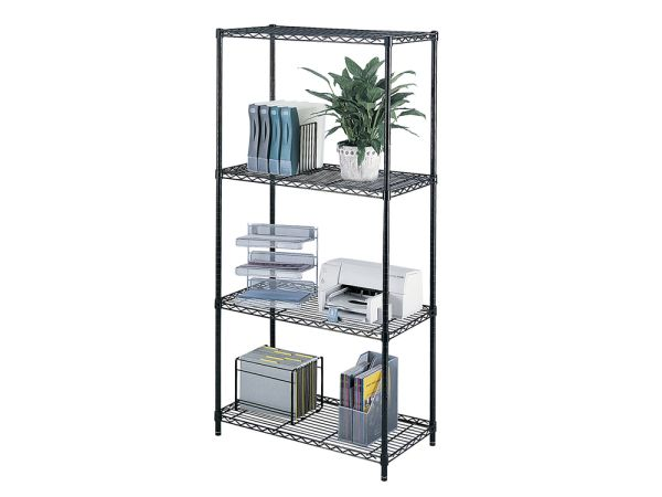 "Industrial Wire Shelf Unit 36""wide"