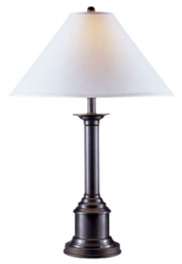Mission Bronze Table Lamp
