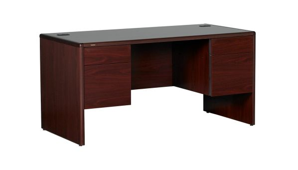 HON Mahogany 10700 Series Desk Junior Executive