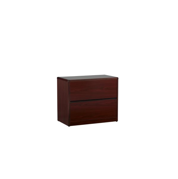 HON Mahogany 10700 2 Drawer Lateral File 2