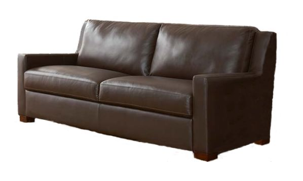 Cort Clearance Furniture Aurelia Genuine Leather Sofa