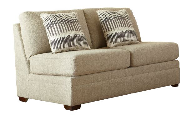 Ballard Armless Loveseat 1