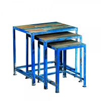 Mosaic Nesting Tables Image 5