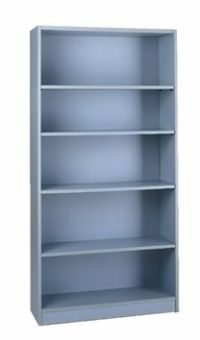 Grey 1000 Series Bookcase Image 10