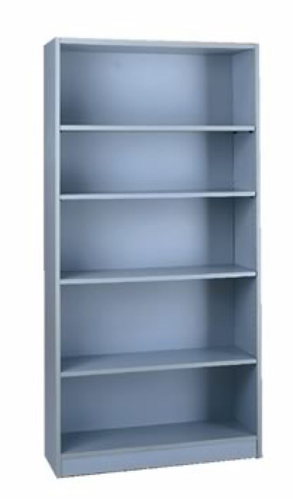 Grey 1000 Series Bookcase 1