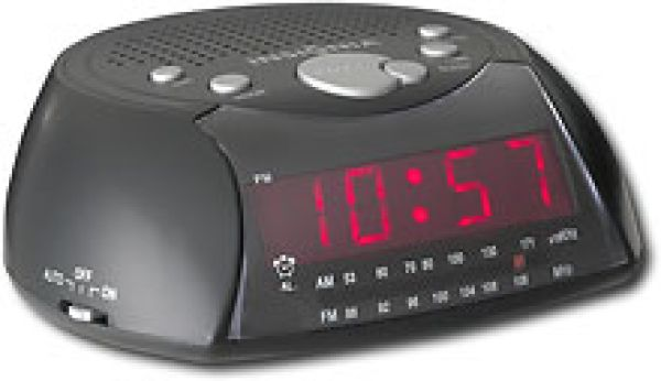 Housewares AM and FM Clock Radio