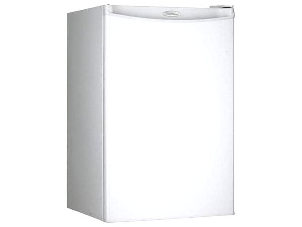 Appliances 4 4 Cubic Foot Compact Refrigerator White 1