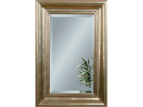Antique Silverleaf Mirror