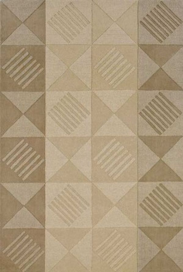 Simplicity Triangles Area Rug