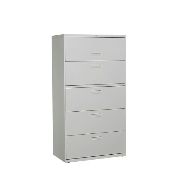 HON Grey 5DW Lateral File