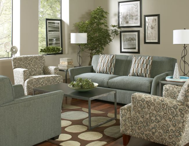 Cort Clearance Furniture Seaspray Sofa Chair Set