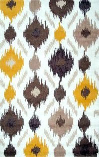 Mello Yellow Area Rug