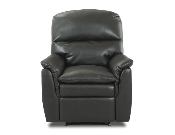 Murray Black Leather Recliner